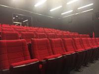 Eigener Kinosaal der HdM