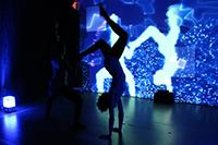"""""""Grenzkörper"""": ein Eindruck von der interaktiven Tanzperformance (Fotos: Projektteam)"""