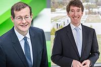 Prof. Dr. Alexander W. Roos und Prof. Dr. Boris Kühnle
