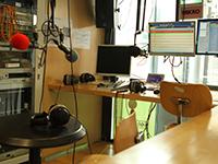 Das Studio an der Hochschule der Medien