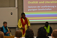 Abschlussveranstaltung: Gruppe Ngowa (Fotos: Stefanie Kastner)
