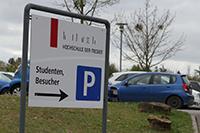 Der HdM-Parkplatz bleibt vorerst weitgehend erhalten