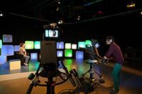 An der HdM machen Studenten TV