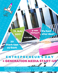"""Entrepreneur's Day - Generation Media Start-up"""