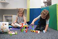 Die Kidsbox in der Lernwelt (N10) lädt zum Spielen ein (Foto: Helena Ebel)