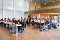 Das Finale fand im Stuttgarter Rathaus statt