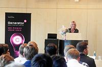 Organisatorin Magdalena Weinle (Fotos: Petra Rösch)