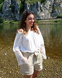 Laila Abdalla kommt ursprünglich aus der ägyptischen Hauptstadt Kairo