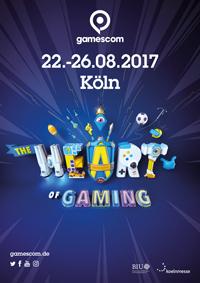 Das offizielle Plakat zu gamescom 2017, Foto: gamescom