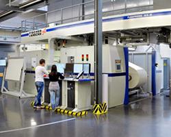 Das DFTA-Technologiezentrum ist eine Spezialabteilung für das Verpackungsdruckverfahren Flexodruck. Foto: DFTA-Technologiezentrum