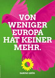 Kurze, prägnante Wortspiele sollen Die Grünen erneut in den Bundestag führen. Foto: Bündnis 90/ Die Grünen
