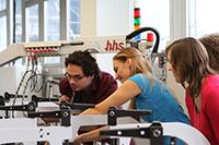 Der Studiengang Verpackungstechnik zählt zu den Studienangeboten mit der längsten Tradition