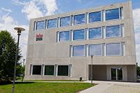 Das Gebäude hat eine angenehme Lernatmosphäre