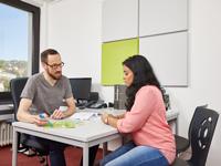 Kostenlos, kompetent und vertraulich die Sozialberatung des Studierendenwerk Stuttgart (Bild Christoph Düpper)