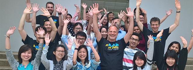 Die Workshop-Teilnehmer in Singapur