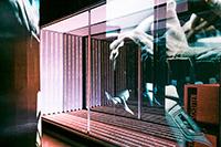"""Das Projekt """"Schatten"""" wurde auf 125 Quadratmetern in interaktiven Installationen thematisiert."""