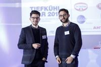 Thomas Lotter (li.) und Julian Bossert bei der anuga 2017 in Köln, Foto: dti