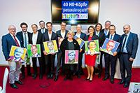 Prof. Dr. Simon Werther (zweiter von links) mit den anderen Preisträgern, Foto: Haufe / Fotoagentur Fox