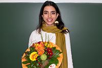 Preisträgerin Laila Abdalla (Foto: Selina Spieß)