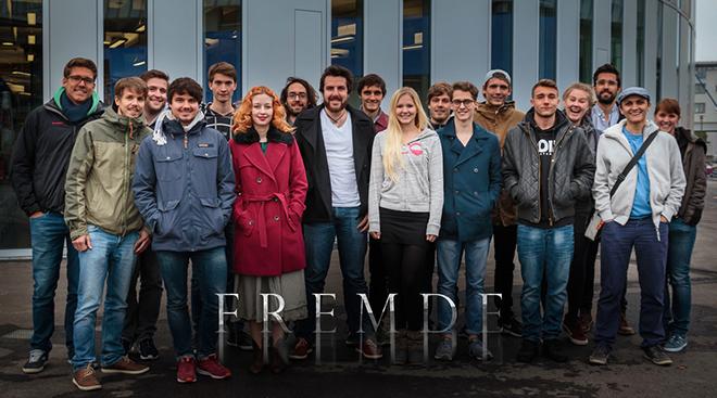 """Das Team von """"Fremde"""" (Foto: Projektteam)"""