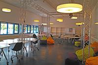 Die HdM bietet einen Co-Workingspace