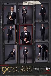 Moderator Jimmy Kimmel machte bereits im Vorfeld auf seinen Social Media Kanälen Werbung für die Veranstaltung. Foto: @jimmykimmellive via instagram.com