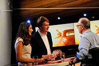 Nachwuchsmoderatoren Delia und Daniel geben ihr TV-Debut bei der imo-Abschlusssendung 2017 (Fotos: imo/Tom Oettle)