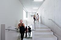 Auf einer Fläche von 1850 Quadratmetern sind unter anderem neun Seminarräume untergebracht