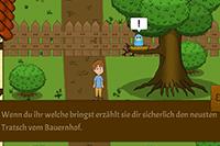 Das Geheimnis der Kleeblatt-Farm - ein Lernspiel rund ums Landleben