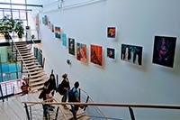 Die HdM-Galerie hat Tradition (Fotos: Projektteam)