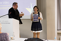 Preisträgerin Svenja Steinbrecher (Fotos: Niels Keller)