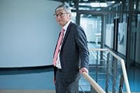 Peter Marquardt, Kanzler der Hochschule der Medien, wurde erneut gewählt