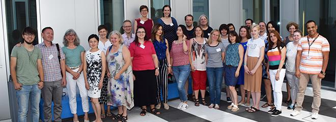 Die Teilnehmer und Dozenten der Summer School an der HdM (Foto: Ulrich Wesser)