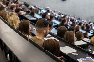 Die HdM begrüßt ihre neuen Erstsemesterstudierenden am 8. Oktober 2018