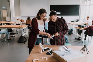 Der Studiengang Integriertes Produktdesign lässt zum zweiten Mal zu