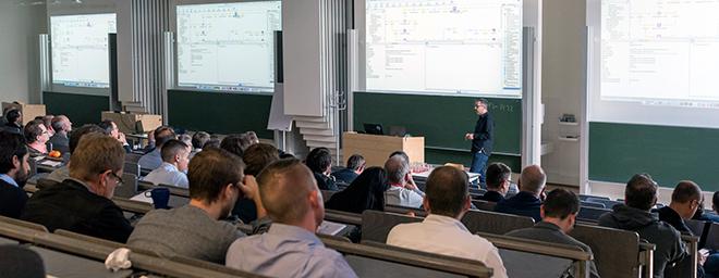 Das Symposium findet zum zehnten Mal statt (Foto: Laurin Ring)