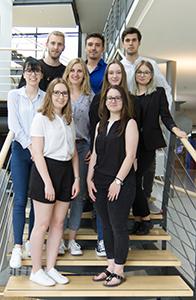 Das Shop-Team (Foto: Barbara Dörsam)