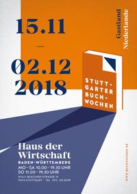 Das Cover des diesjährigen Programmhefts, via buchwochen.de