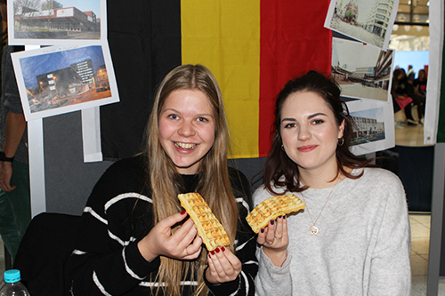 Impressionen des International Days (Fotos: Olivia Mayer)