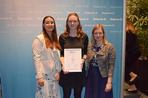 Die Preisträgerinnen Jana Stäbener, Jacqueline Fritsch und Madeleine Fischer (Foto: Madeleine Fischer)