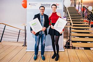Prof. Dr. Martin Dreher und Svea Brun
