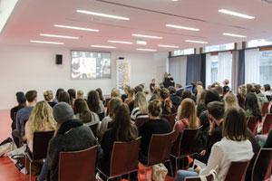 Das Programm bestand aus spannenden Vorträgen von Experten der Medienbranche, Foto: Eva Stetter