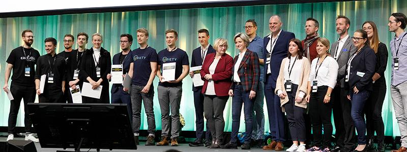 """Das Finale der ersten """"Start-up BW ASAP""""-Wettbewerbsrunde beim Start-up Summit (Bild: Ministerium für Wirtschaft, Arbeit und Wohnungsbau Baden-Württemberg)"""