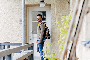 Jeder sechste Studierende lebt in einer studentischen Wohnanlange.
