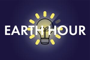 """Die """"Earth Hour"""" soll auf den Klimaschutz aufmerksam machen"""