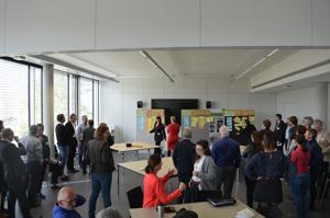 Die Teilnehmenden der Konferenz bei einem Workshop, Fotos: Silke Dutz
