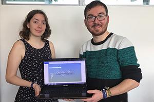 """Madeline Reinaldo Mendoza und Willi Schorrig belegen in der Kategorie """"Nachwuchspreis - Konzept"""" den zweiten Platz."""