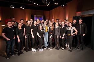 Hinter der Show steht ein großes Team (Foto: Valentin Rouault)