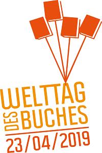 Logo vom Welttag des Buches