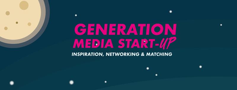 Die Generation Media Start-up findet am 24. Mai 2019 statt